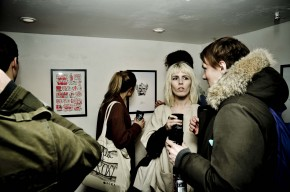 Vernissage de Burning Ink  Londres