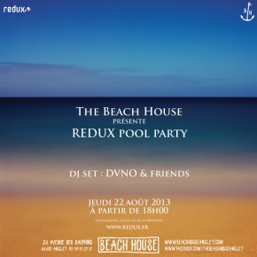 REDUX Pool Party à la Beach House